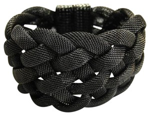 2 Chic Braided Mesh Metal Bracelet