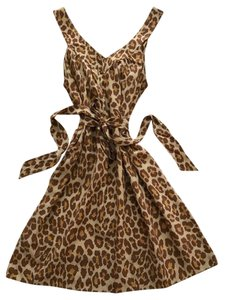 Marc by Marc Jacobs short dress Leopard Print Shift A-line on Tradesy