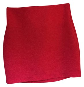 BCBGeneration Hot Bright Colorful Vibrant Stretchy Mini Skirt Pink