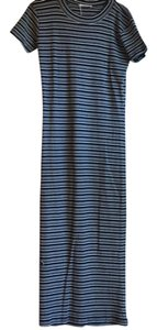 Navy Maxi Dress by Zara