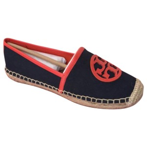 Tory Burch navy red Flats