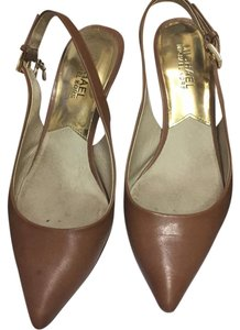 Michael Kors Camel Color Pumps