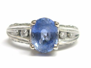 Other Fine Gem Sapphire Diamond Anniversary Jewelry Ring 3.54CT