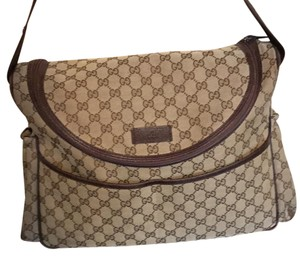 Gucci beige/brown Diaper Bag