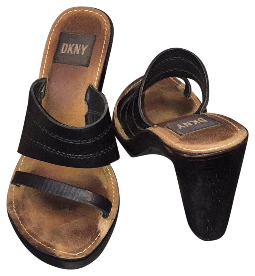 MISS The DKNY Black K189382 Mules/Slides The MISS newest style 12c470