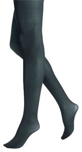 Hue NEW HUE Evergreen Opaque Tights Dark green Hosiery New in Package