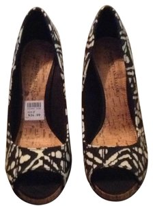 Christian Siriano for Payless Black & white Platforms