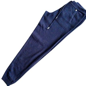 Woolrich Relaxed Pants Blue navy 100% cashmere