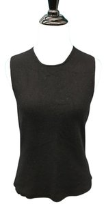 TSE Cashmere Sleeveless Top Black