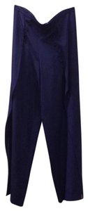 INTERMIX Wide Leg Pants navy blue