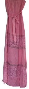 Pink Maxi Dress by Marineblu