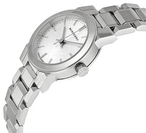 Burberry Ladies Burberry Silver Dial Stainless Steel Watch BU9200