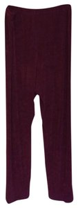 Chico's Relaxed Pants Maroon
