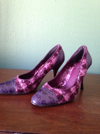Joey O Purple/Burgundy Pumps