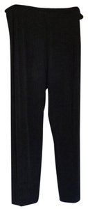 Chico's Relaxed Pants Black with pinstripe
