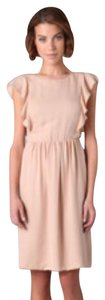 Theory short dress Rose/ Nude on Tradesy