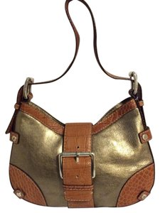 Michael Kors Small Gold Hobo Bag