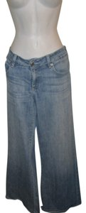 AG Adriano Goldschmied Mona Light Wash 32r Boot Cut Jeans-Light Wash