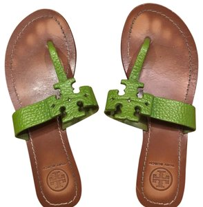Tory Burch Green Sandals