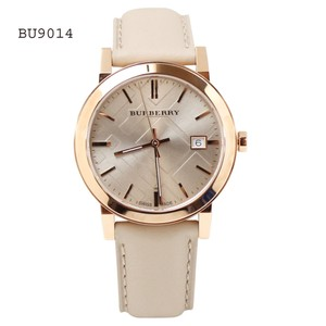 Burberry Burberry Watch The City Check Stamped Round Dial BU9014