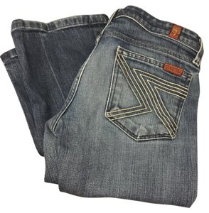 Seven7 Flynt Boot Cut Jeans-Distressed