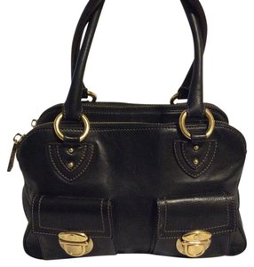 Marc by Marc Jacobs Blake Leather Satchel in black