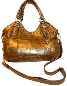 BCBGeneration Refurbished Convertible Leather Cross Body Bag