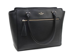 Kate Spade Allyn Satchel in Black