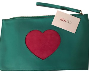 Valentino Wristlet in teal