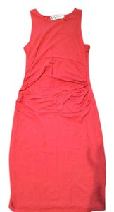 Fighting Eel short dress Coral on Tradesy