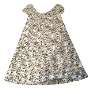 Fighting Eel short dress Black and White Polka Dot on Tradesy