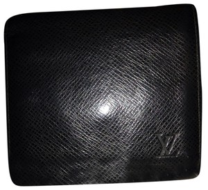 Louis Vuitton Louis Vuitton Wallet Taiga Black LVTL06