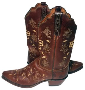Lucchese 9.5 Women's 9.5 Cowgirl 9.5 Western 9.5 Brown Boots