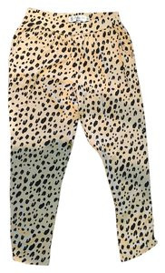 Fighting Eel Relaxed Pants Leopard Print