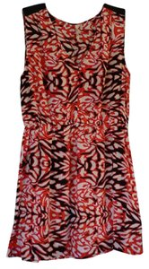 Petticoat Alley short dress Multi Red Mulit Color Printed on Tradesy