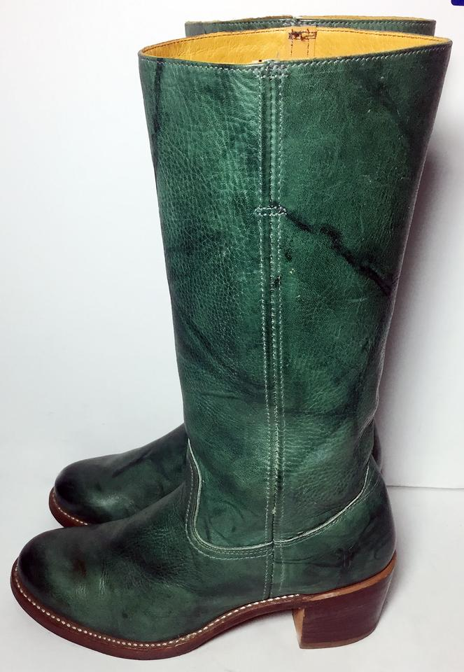 9aaeaf1a3 Frye Turquoise 77525 Sabrina Thea Motorcycle Women's Boots/Booties ...