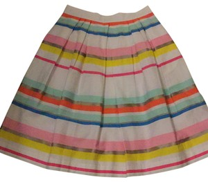 Kate Spade Skirt white/ribbon colors