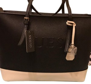 Guess Tote in Black and White