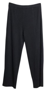 Misook Straight Pants Black