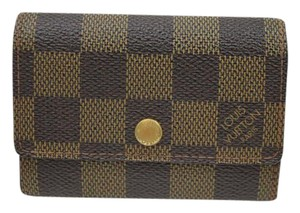 Louis Vuitton Authentic Louis Vuitton Coin Purse Browns Damier