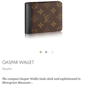 Louis Vuitton Gaspar Wallet M93801