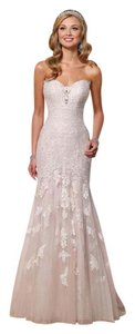 Essense Of Australia Lace Appliques Wedding Dress #6257 Wedding Dress