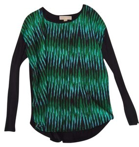 Michael Kors Top Green Blue