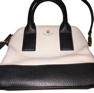 Kate Spade Satchel in Black and Clay