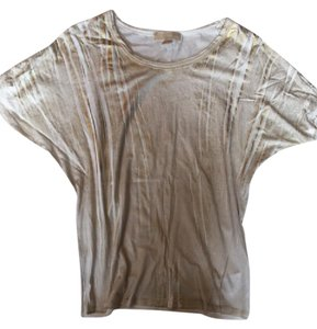 Michael Kors T Shirt Gold Cream
