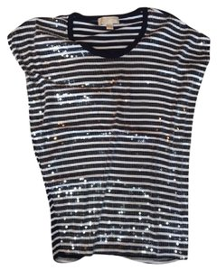 Michael Kors T Shirt Navy White