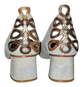 Guilhermina Blue, silver, gold Sandals