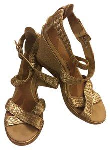 Sperry silver Wedges