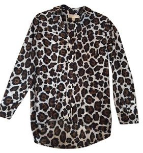 Michael Kors Top Cheetah Print