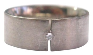 NIESSING 18Kt NIESSING Germany Designer Diamond Band Ring Sz 9 3/4